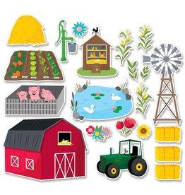 Farm Fun Bulletin Board Set