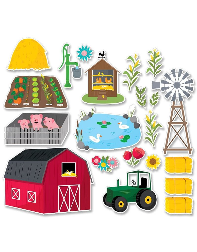 Farm Fun Bulletin Board Set