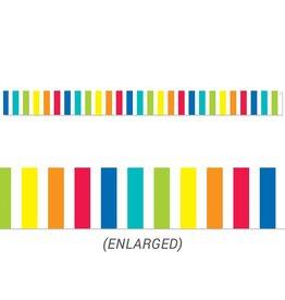 Rainbow Bold Stripes border