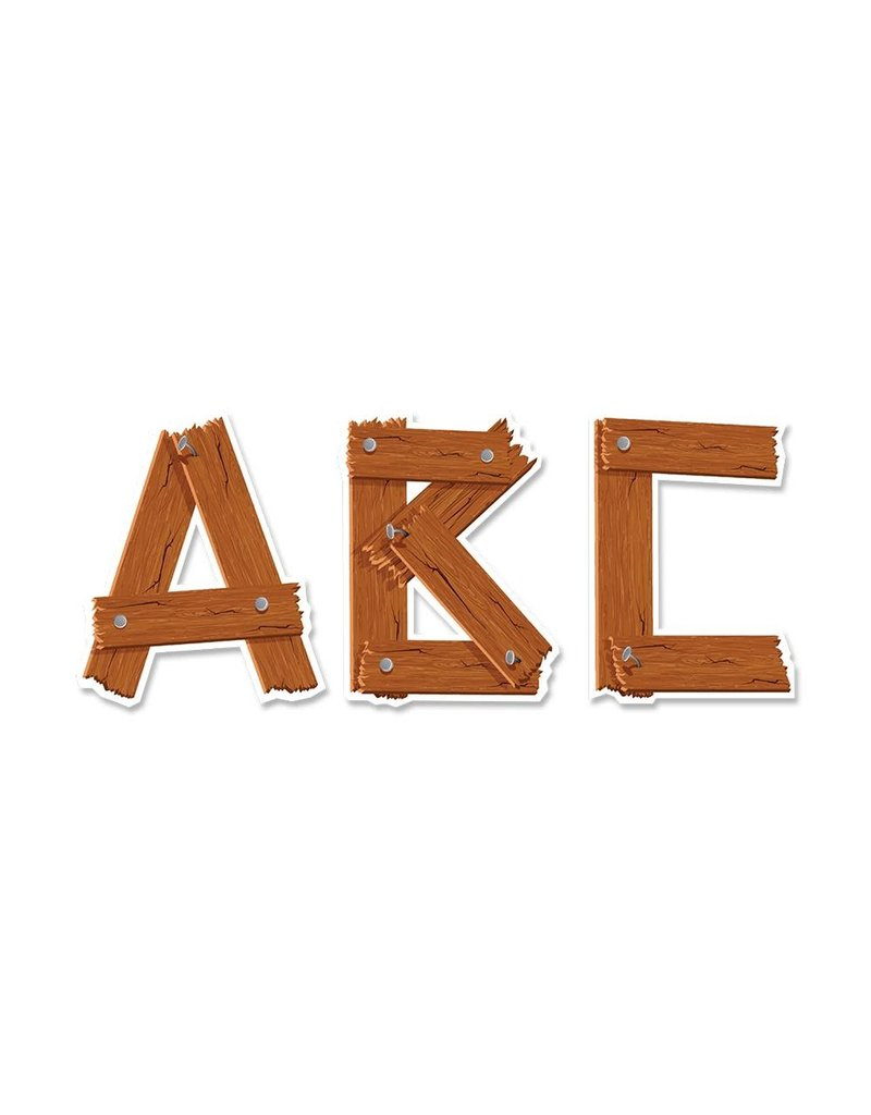 "Timber 5"" Uppercase Designer Letters"