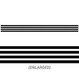 Black Stripes Border