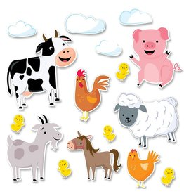 Jumbo Farm Friends Bulletin Board Set