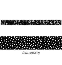 Messy Dots on Black