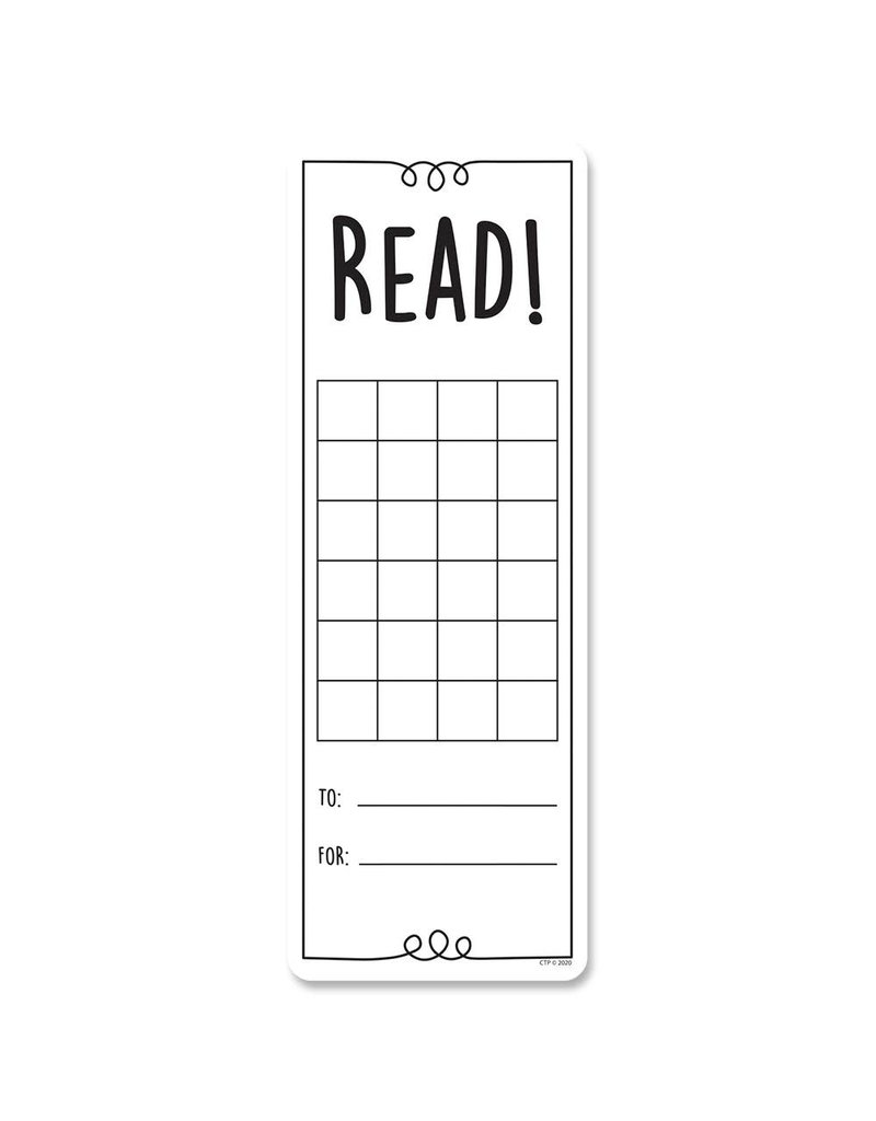 Read! Incentive Cards