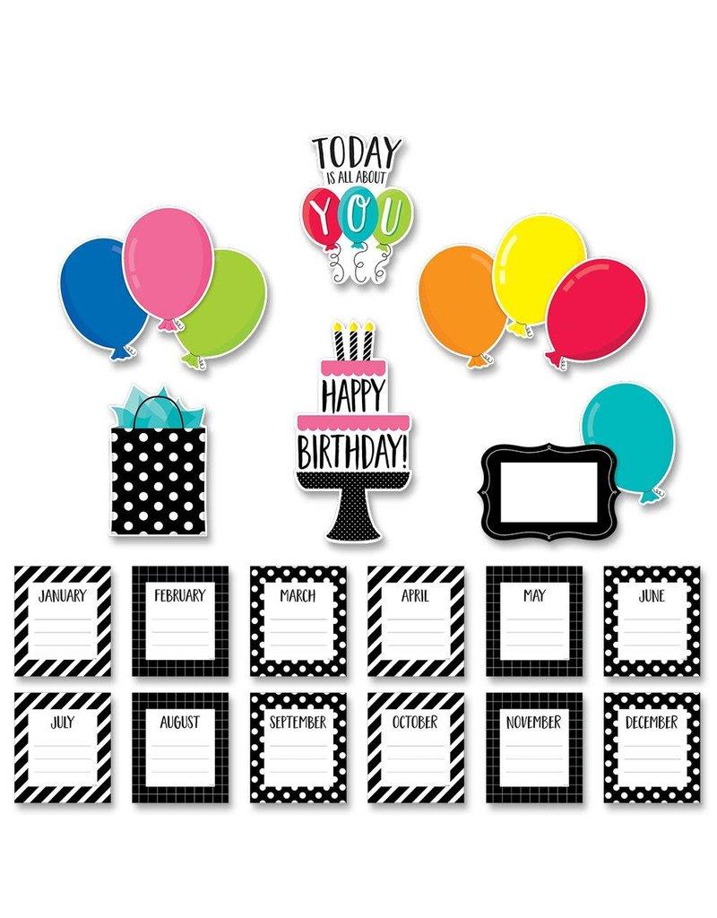 Happy Birthday Mini Bulletin Board Set