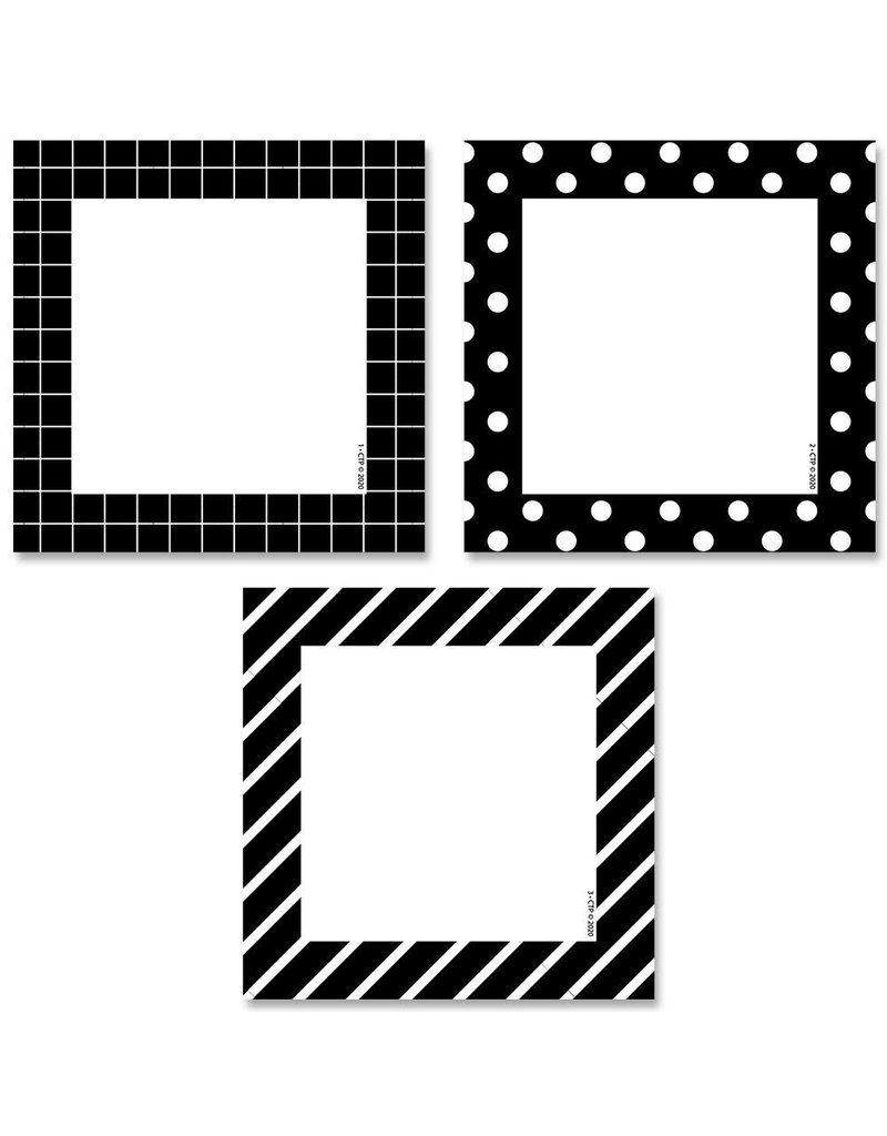 """Pattern Cards 3"""" Cut-Outs"""