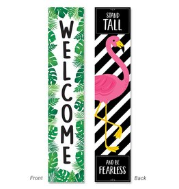 Palm Welcome Banner