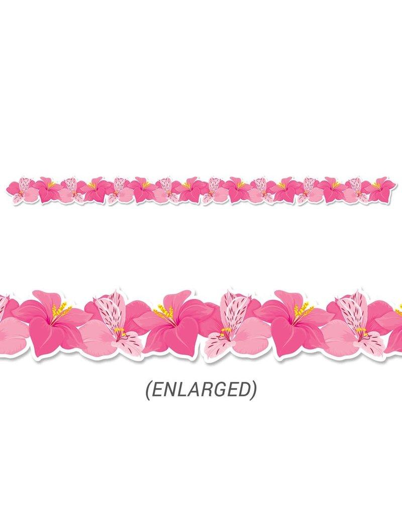 Pink Blooms Border