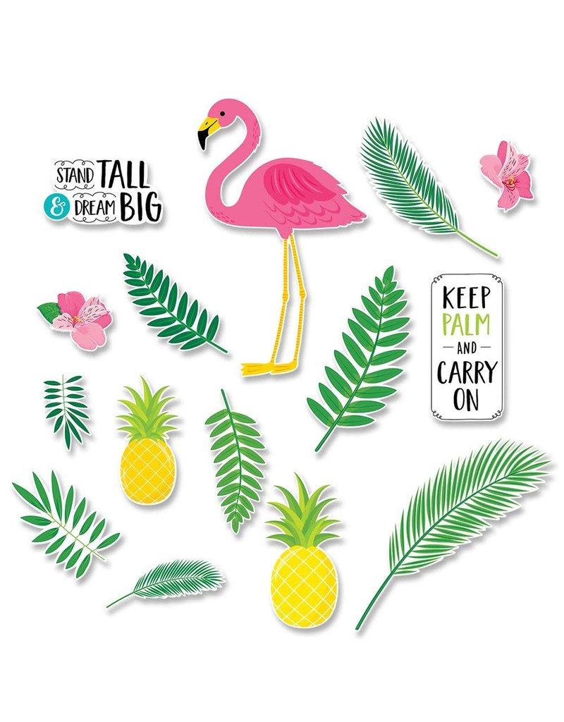 Flamingo Fun Bulletin Board Set