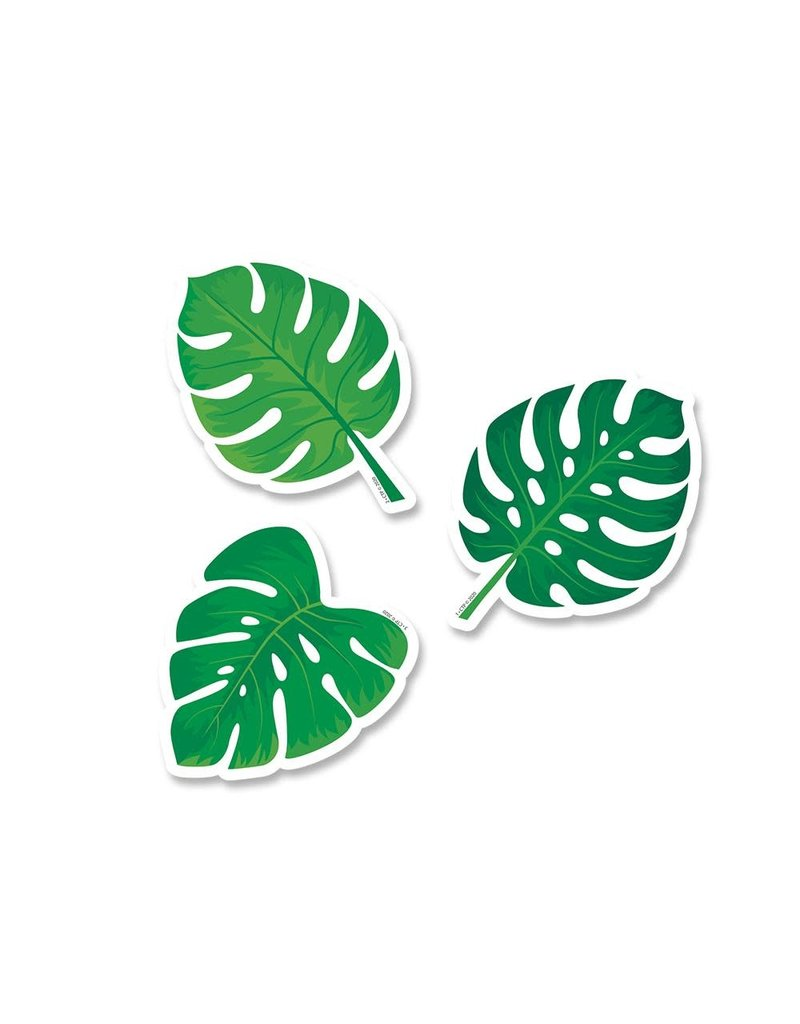 "Monstera Leaves 3"" Cut Outs"
