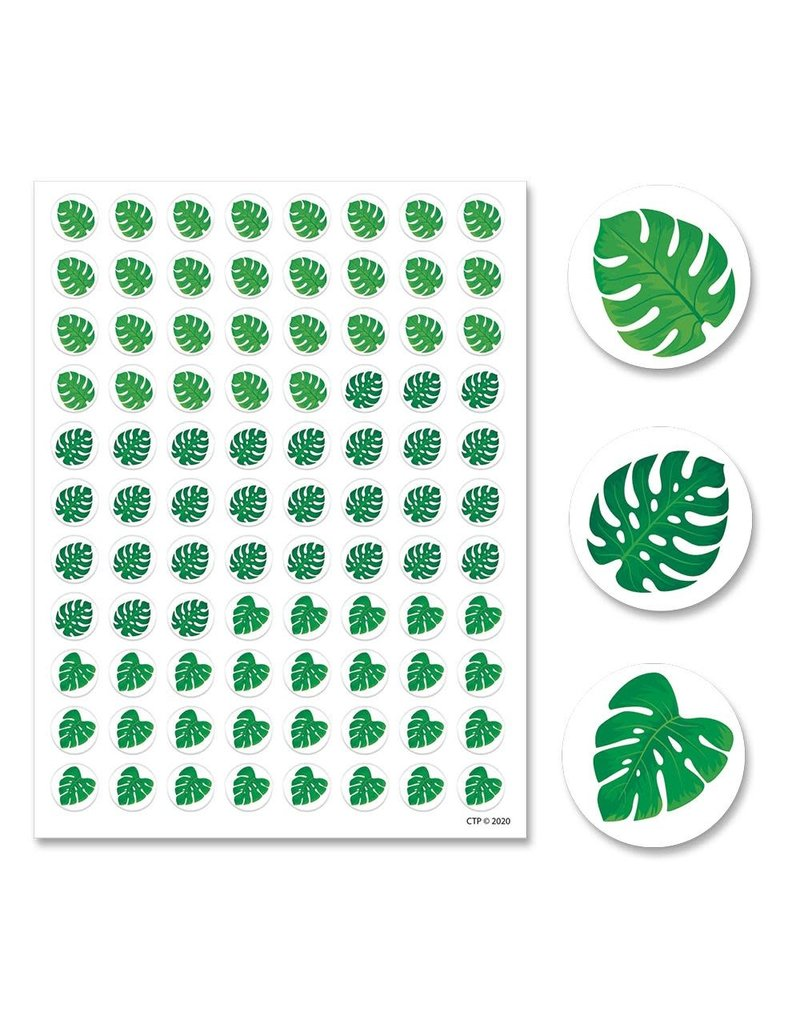 Monstera Hot Spots Stickers