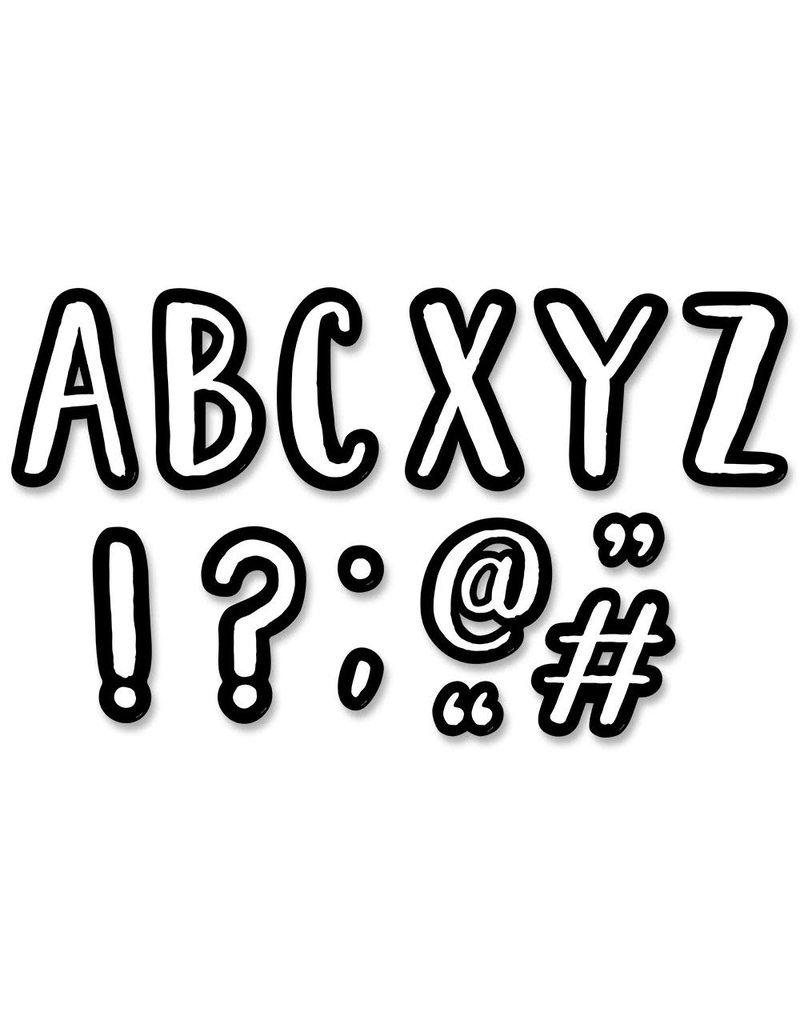 """7"""" Designer Cafe Letters"""