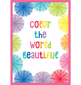 Color the World Beautiful Poster
