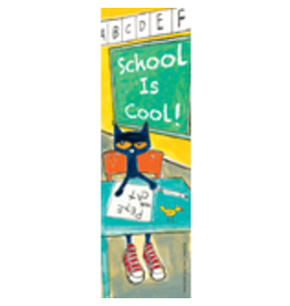 School is Cool Pete the Cat Bookmarks