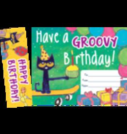 Pete the Cat Happy Birthday Bookmark Awards