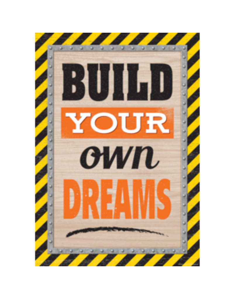 Build Your Own Dreams Poster
