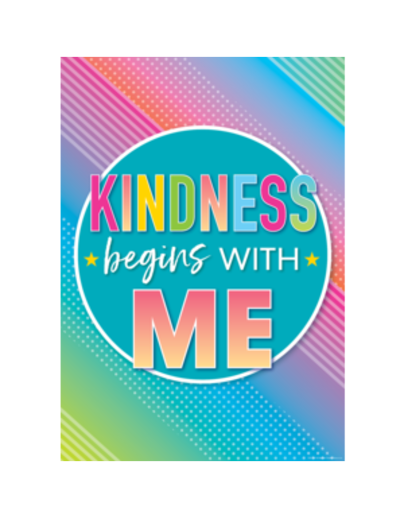 Kindness Begins With Me Poster