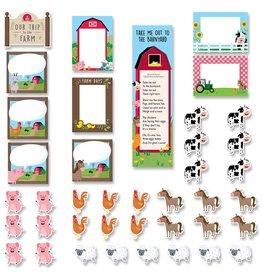 Our Trip to the Farm Mini Bulletin Board