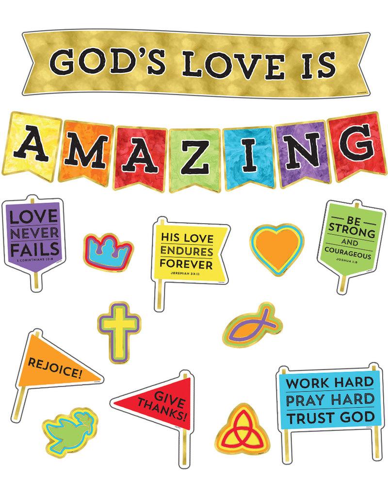 God's Love Is Amazing Bulletin Board
