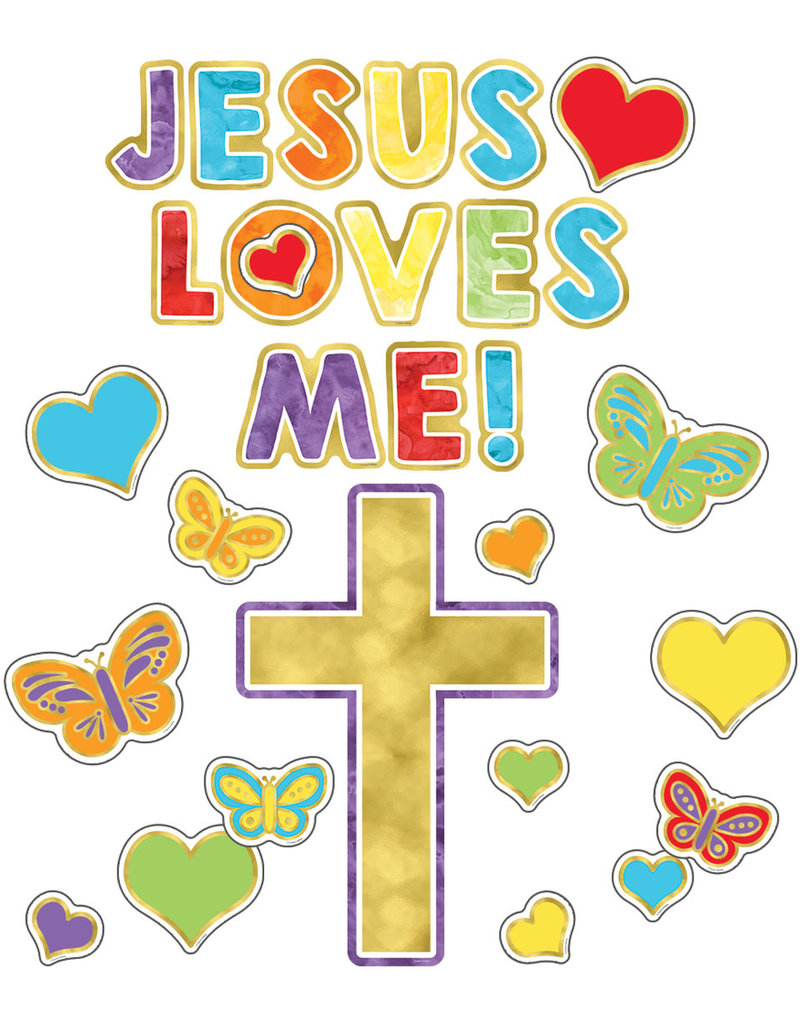 Jesus Loves Me! Mini Bulletin Board