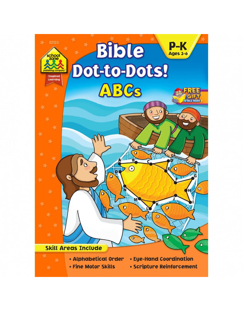 Bible Dot-to-Dots! ABC
