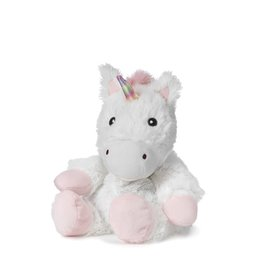 White Unicorn Warmies Plush