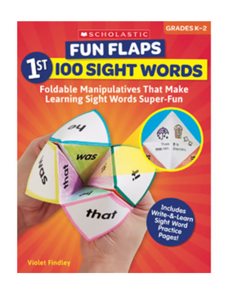 Fun Flaps 1st 100 sight words