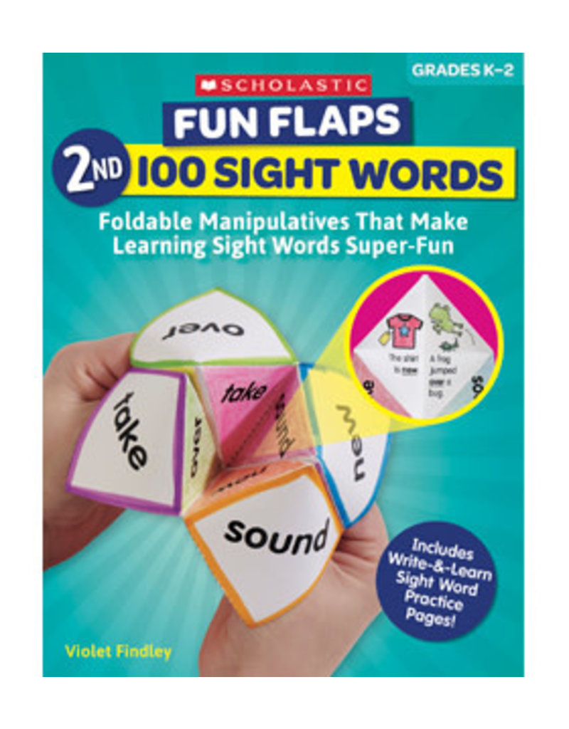 Fun Flaps 2nd 100 Sight Words