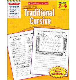 Scholastic Success With Traditional Cursive: Grades 2–4