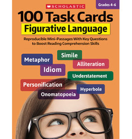 100 Task Cards Figurative Language