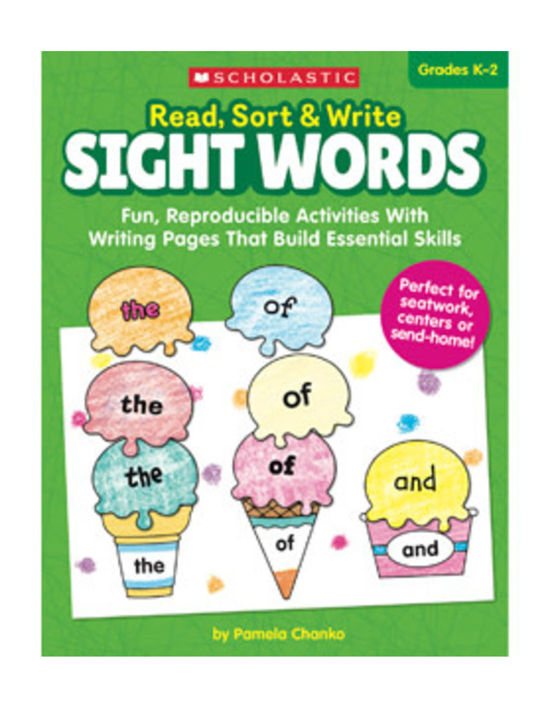 Read Sort and Write Sight Words