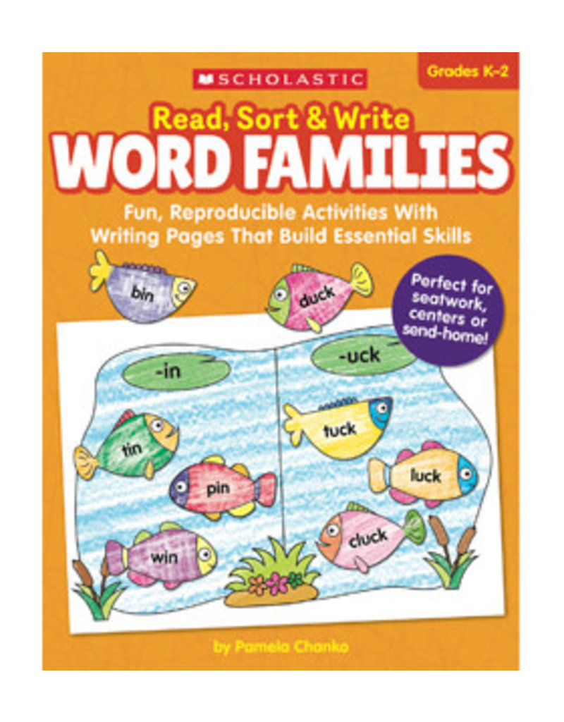 Read Sort and Write Word Families