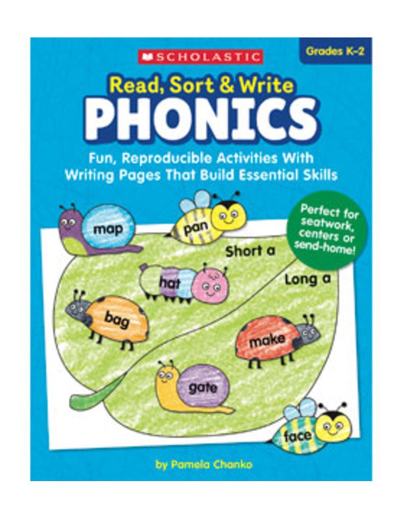 Read Sort and Write Phonics