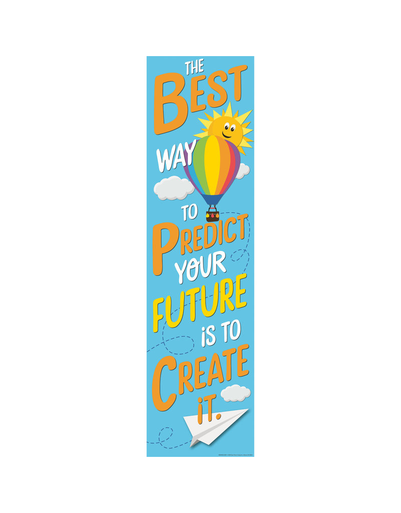 Predict Your Future Vertical Banner
