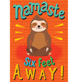 Namaste Six Feet Away Poster
