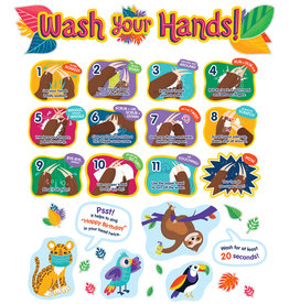 One World Handwashing Bulleting Board Set