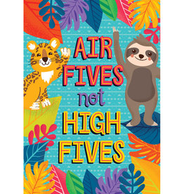 Air Fives, Not High Fives Poster