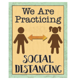 We Are Practicing Social Distancing Chart
