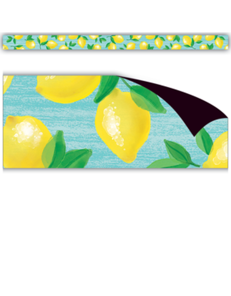 Lemon Zest Magnetic Border