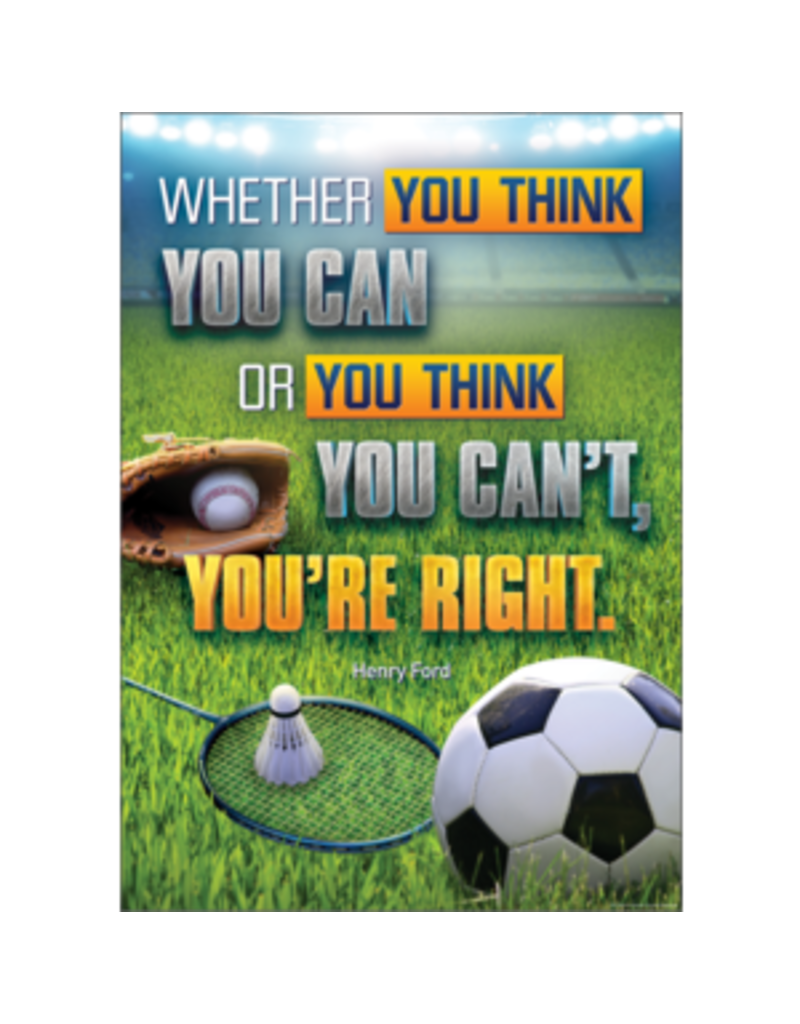 Whether You Think You Can or Your Think You Can't Poster