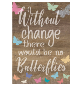 Without Change There Would Be No Butterflies Poster