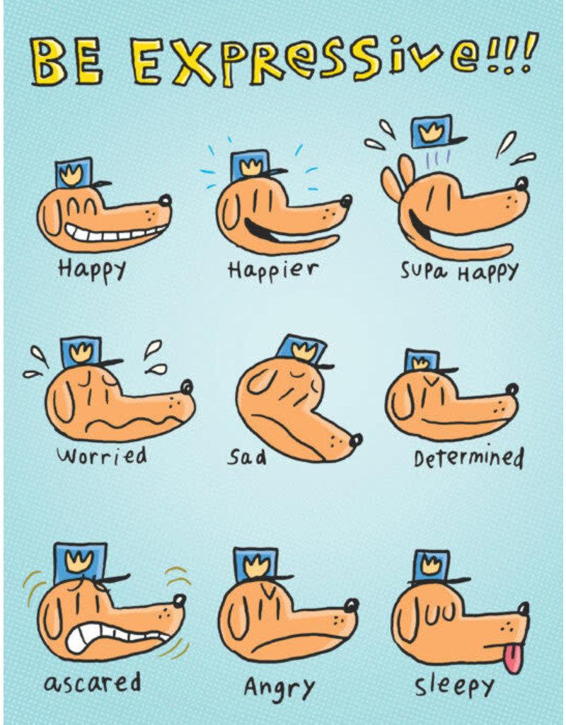 Dog Man Feelings Chart