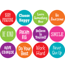 Spot On Positive Sayings Carpet Markers 4""