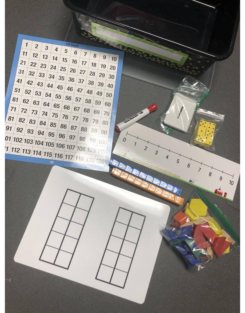 Kindergarten Math Manipulative Set