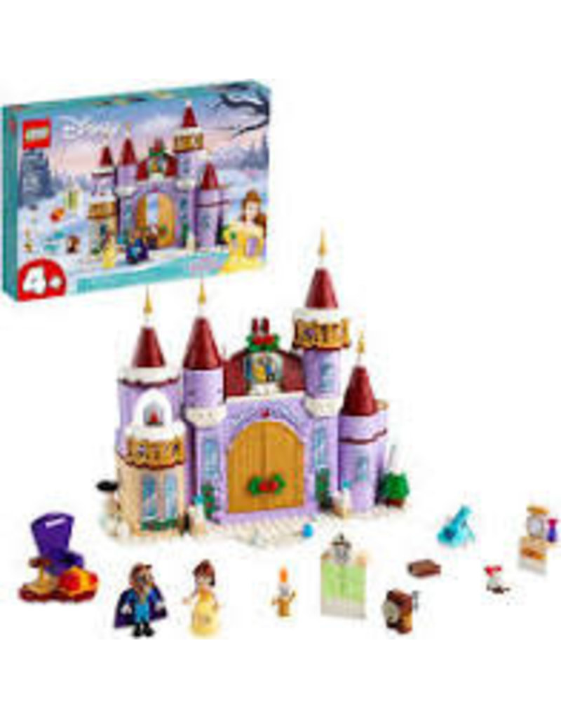 LEGO Belle's Castle Winter Celebration