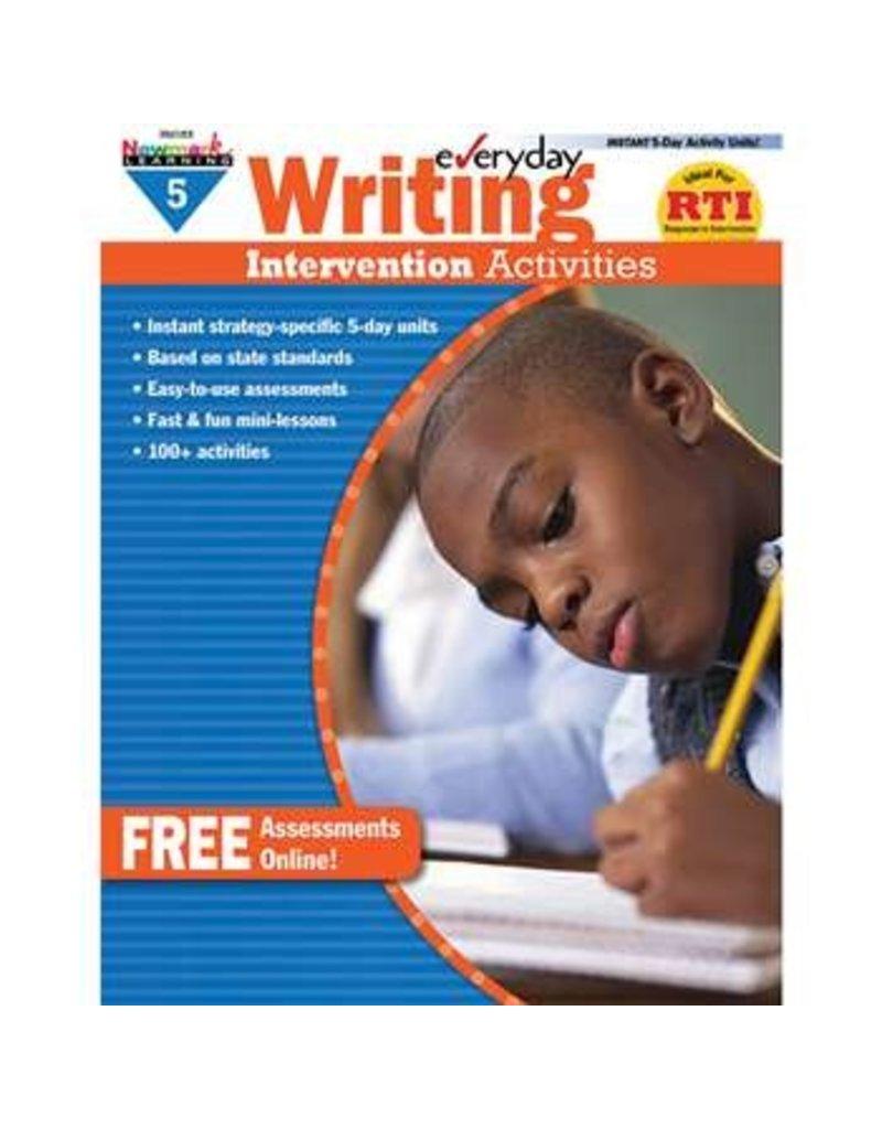 *Everyday Writing Intervention Activities Grade 5