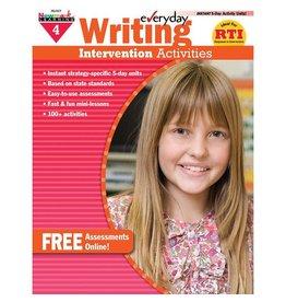 *Everyday Writing Intervention Activities Grade 4