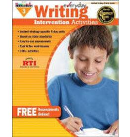 *Everyday Writing Intervention Activities Grade 3