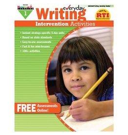 *Everyday Writing Intervention Activities Grade 1