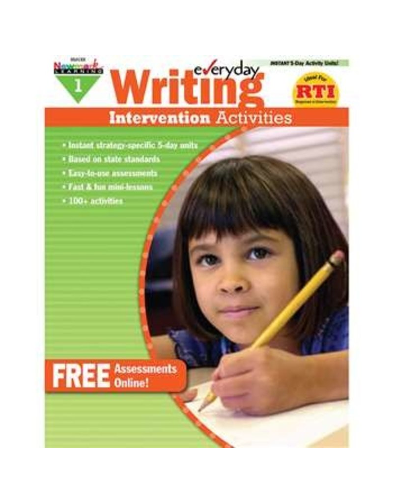 *Everyday Writing Intervention Activities Grade 1
